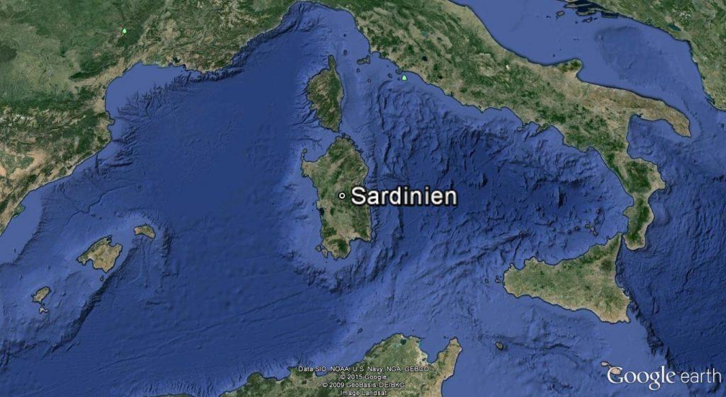 Sardinien_Karte